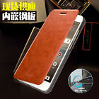 Mofi Stand Flip PU Leather Steel Plate Protective Cover Case For HTC Desire 728