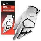 NIKE Mens Durafeel Golf Glove (White) - Choose Size and Hand