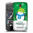 HEAD CASE DESIGNS CHRISTMAS TIDINGS HARD BACK CASE FOR HTC PHONES 2
