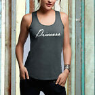 Princess Racerback Tank, Princess Shirt, Princess Tees, Bridal Shower, Bride tee