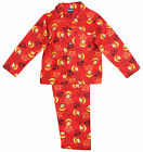 Boys Angry Birds Star Wars Wincyette Button Up Cotton Pyjamas 2 to 8 Years