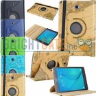 """360 Rotating PU Leather Smart Case For Samsung Galaxy Tab A 8.0"""" SM-T350 T351 US"""
