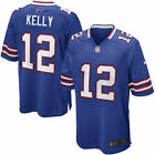 Nike Buffalo Bills Jim Kelly #12 Retired Player Home Game Football Jersey