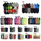 3 6 12 Pairs Lot Men's Women's Design Socks Low Cut Fashion Pattern Print Casual