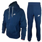 MENS NIKE TRACKSUIT FLEECE FOUNDATION HOODY AND JOGGERS BOTTOMS PANTS JOG SUIT