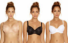 "Brand New Fantasie ""4520"" Smoothing Balcony Bra All Sizes, Black White and Nude"