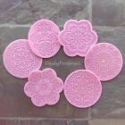 M2 Silicone Doily Embossing Mold Gum Paste Fondant Decor CupCake Lace Icing Mat