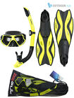 Gul Tarpon Adult Mask Snorkel Fins Set Silicon Snorkelling Swimming Diving