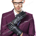 2015 Fashion Men's 100% Genuine Leather Police Gloves Driving Gloves For Men New