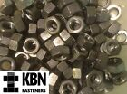 1/4 5/16 3/8 7/16 1/2 Bsw Steel Full Nuts For Whitworth Bolts & Screws Qty 5-100