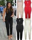 WOMENS LADIES CELEBRITY JUMPSUIT PLAYSUIT EVENING PARTY DRESS UK SIZE 8 10 12 14
