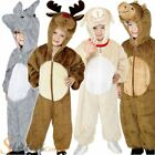 Kids Nativity Christmas Costumes Animal Fancy Dress Boys Girls Zoo Outfit