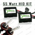 55W HID Fog Lights Xenon Light Slim Kit Plug N Play Bulb Size - H11 (C)