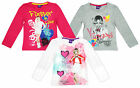 Girls Official Disney Violetta Forever in Love Long Sleeve Top 6 to 12 Years