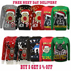 New Unisex Ladies Womens Girls Mens Novelty Xmas Christmas jumper Retro Sweater