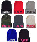 NEW FLAWLESS CUFFED BEANIE CAP HATS HIP HOP CAPS - MANY COLORS