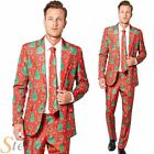 Mens Suitmeister Christmas Tree Fancy Dress Costume Suit Adult Outfit