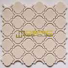 "Crackled Glass Mosaic Tile, ""Colours Collection"" CGM 7103 -  Alabaster"