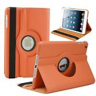 For Apple iPad Mini 1 2 3 360 Rotating Leather Folio Case Cover Stand Wake/Sleep