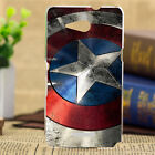 For Sony Xperia Phone Fashion Painted Shield Pattern Back PC hard Case Cover