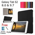 SMART WAKE UP & SLEEP LIGHTWEIGHT CASE COVER FOR SAMSUNG TAB S2 8.0 & 9.7 TABLET