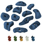 """12 Climbing Holds Grips Stones """"HAPPY"""" for KIDS and Adults Rock Wall Hand Grabs"""