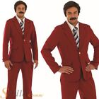 Mens Retro 70s Newsreader Adult Fancy Dress Costume Outfit