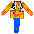 Boy's Toy Story WOODY Cowboy Costume Novelty Pyjamas 18 Months to 6 Years NEW