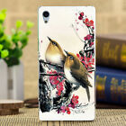 Hot For Sony Phone Fashion Painted Various Pattern Back PC hard Case Cover