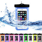 Waterproof Underwater Phone Pouch Bag Pack Case Cover For Cell Samsung iPhone