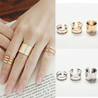 New Fashion 3Pcs/Set Fashion Top Of Finger Adjustable Open Ring Jewelry Gift FM