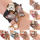 Fashion Womens Vintage Butterfly Bracelet Dial Quartz Dress Wrist Analog Watch