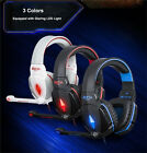 EACH G4000 Gaming Headset Stereo Surround Headphone USB3.5mm LED with Mic for PC