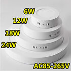 Surface Mounted LED Panel Light Circular Round Ceiling Downlight Wall Lamp 6-18W