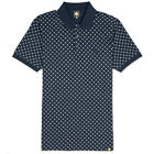 Pretty Green Polo Shirt Tilney In Navy Blue Liam Gallagher Oasis Mods Ska