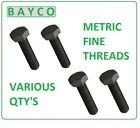 M10 X 1.00P X 35MM FINE PITCH HEXAGON BOLT HT HIGH TENSILE SETSCREW GRADE 8.8