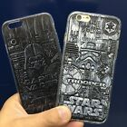 Star Wars Mechanical Style Hard Back Soft Bumper Case For iPhone 5S SE 6 6S Plus $9.22 CAD