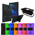 Kyпить Heavy Duty Military Armor Hybrid Case For Samsung Galaxy Tab E 9.6