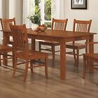 Coaster 100621 Mission Style Dining Table Burnished Oak S...