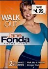 NEW DVD // WALK OUT // JANE FONDA // PRIME TIME // LOW IMPACT FITNESS ROUTINES