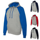 JERZEES Mens Hoodies Nublend Colorblocked Hooded Pullover Sw