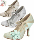 RUBY SHOO CINDY metallic party wedding SHOES heels stockholm SILVER GOLD MINT