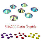 EIMASS® Resin Crystals, Flat Back Gems for Costumes, A True Alternative to Glass