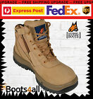New Mongrel Work Boots Lace Up Side-Zip Steel Toe Safety 261050