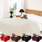 Luxury Teddy Bear Super Soft Fleece Blanket Throw for Sofa Bed Couch