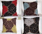 New Luxury Floral Dekota 100% Polyester Cushion Covers 18 x 18 inch /45 x 45cm