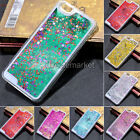 Dynamic Bling Sparkle Glitter Stars Liquid Quicksand Clear Case Cover For iPhone