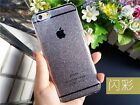 9 color Shiny Bling Bling Silicone Gel Soft Back Case Cover For iPhone 6/6 Plus