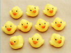 1 / 5 /10 /20 Mini Yellow Rubber Duck Bath Toy Squeaky Water Play Fun Kids Toddler