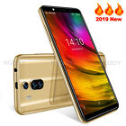 "6.0"" Unlocked Android 8.1 Smartphone Quad Core Dual Sim 3g Dual 5.0mp Cell Phone"
